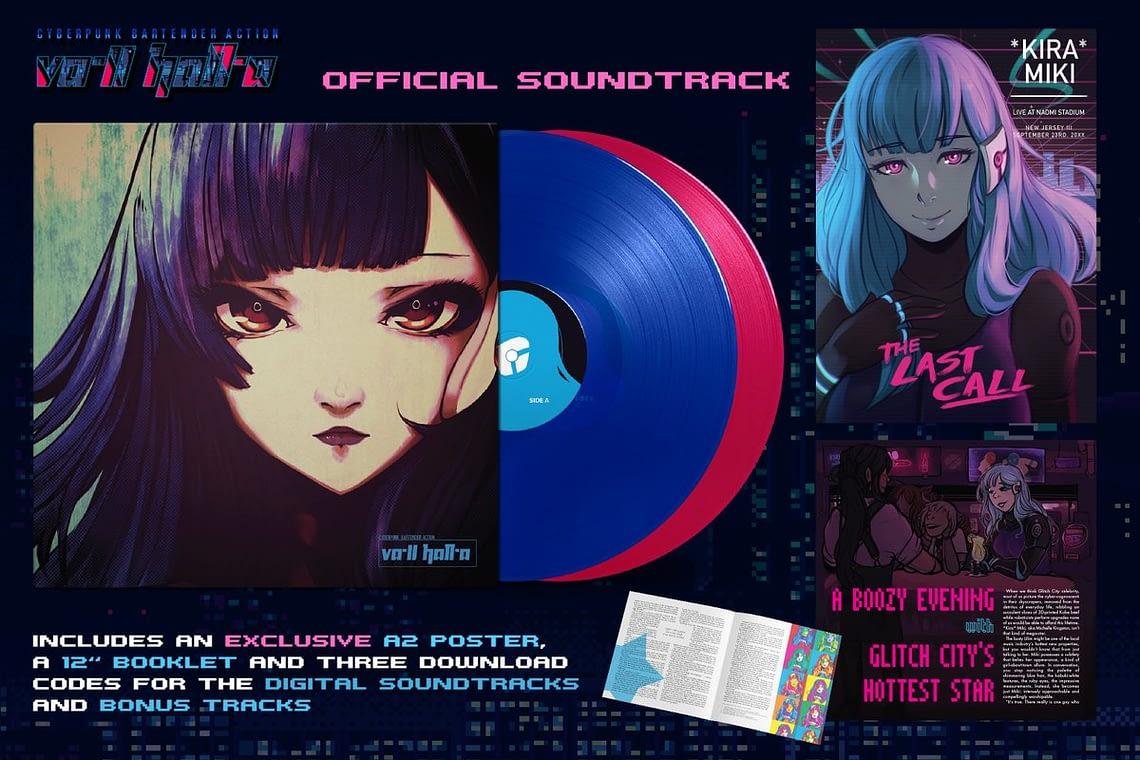 Саундтрек к прошлогоднему киберпанк инди хиту VA-11 Hall-A получил издание на двух пластинках