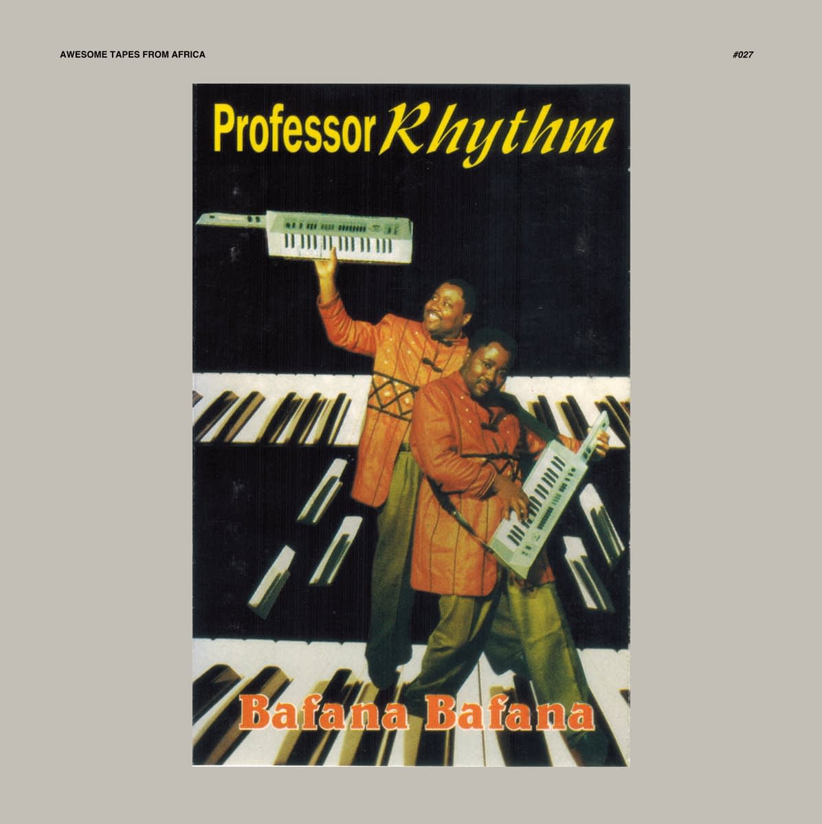 "Awesome Tapes From Africa издаст редкую квайто жемчужину Professor Rhythm ""Bafana Bafana"""