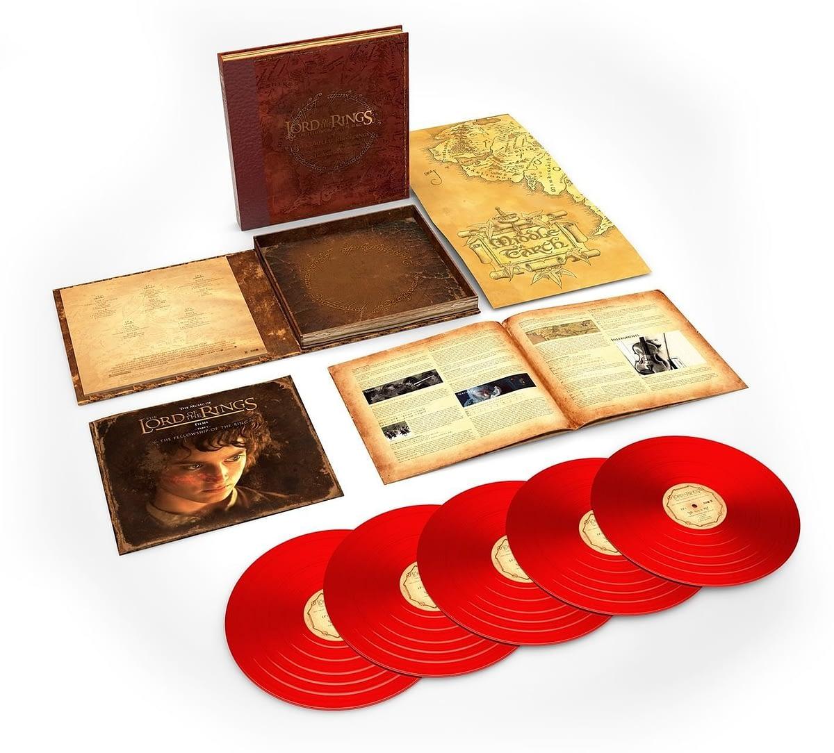 Rhino впервые издаст на виниле полный саундтрек к первой части трилогии «Властелин колец» Питера Джексона 1