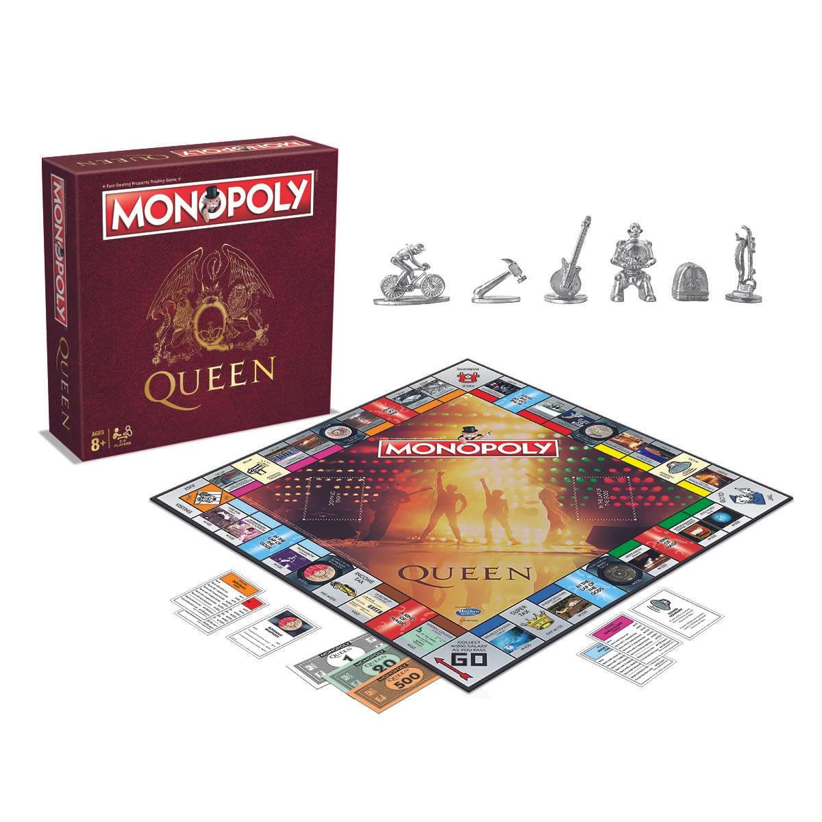 Queen удостоятся тематическим изданием «Монополии» Редактировать эту за