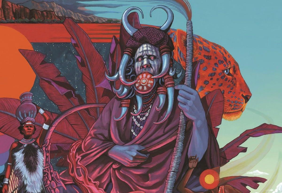 Idris Ackamoor and The Pyramids готовят к выходу новый спиритуал-джаз эпос Shaman! 1