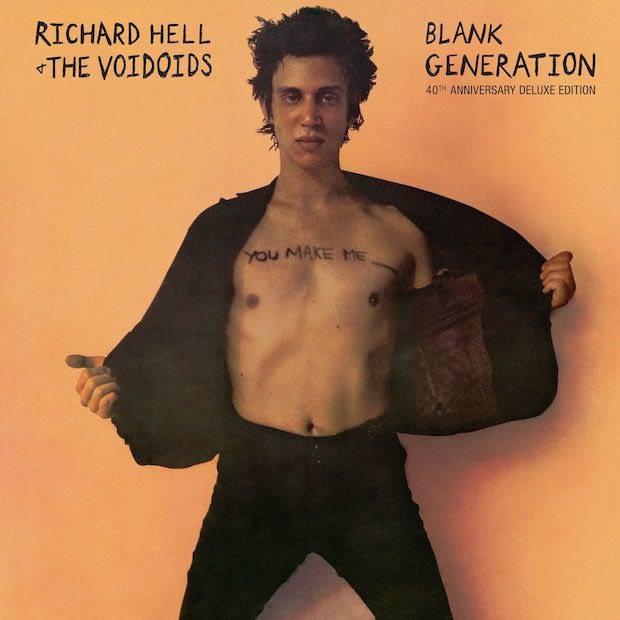 """Альбом """"Blank Generation"""" нью-йоркских панк-рокеров Richard Hell and the Voidoids получит юбилейное переиздание 1"""