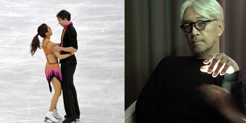 Композиция Рюити Сакамото стала саундтреком для выступления японских фигуристов на Зимних Олимпийских играх 1