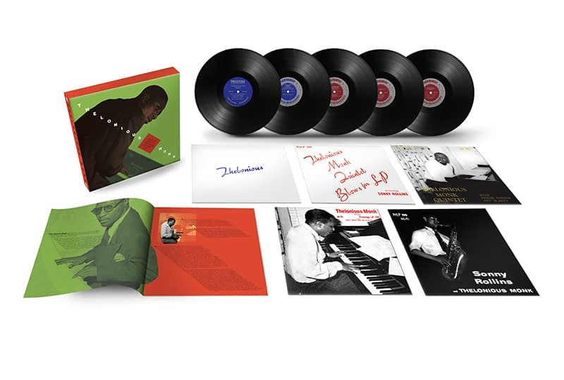 Пять альбомов Телониуса Монка будут переизданы в виде бокс-сета